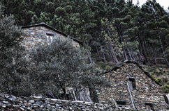Piodao is a very old little mountain village,in Arganil,Portugal Stock Photo