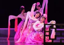 """Pioen - het Pioenpaviljoen--jiangxi opera""""four dromen van linchuan† Stock Foto"""
