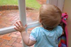 Pioggia! Fotografie Stock Libere da Diritti