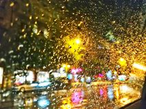 Pioggia Fotografie Stock