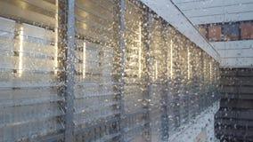 Pioggia all'esterno Fotografia Stock