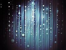 Pioggia astratta Fotografie Stock
