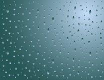 Pioggia astratta sulla finestra Immagine Stock Libera da Diritti