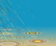 Pioggia colorata Fotografia Stock