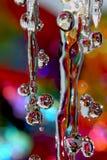 Pioggia colorata Fotografia Stock Libera da Diritti