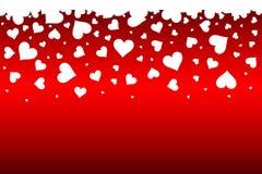 Pioggia del cuore Fotografia Stock