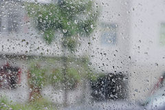 Pioggia del giorno immagini stock libere da diritti