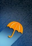 Pioggia del giorno Immagini Stock