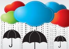 Pioggia del giorno. Fotografia Stock