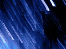 Pioggia della meteora Immagini Stock