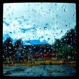 Pioggia di colori Immagini Stock Libere da Diritti