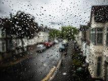 Pioggia di Londra Fotografia Stock