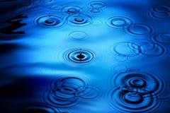 Pioggia di luccichio Immagini Stock