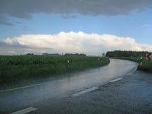 Pioggia di macerazione Fotografia Stock