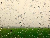 Pioggia di vetro Immagine Stock