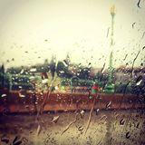 Pioggia a Georgetown Fotografia Stock