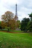 Pioggia a Parigi Immagini Stock Libere da Diritti