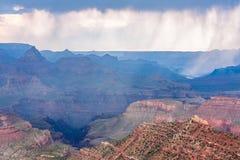 Pioggia su Grand Canyon Immagini Stock Libere da Diritti