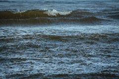 Pioggia sul mare Fotografia Stock
