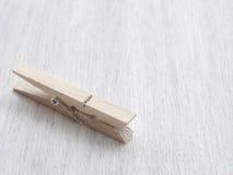 Pioli di legno del panno Immagine Stock