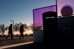 Piombino, Тоскана, Италия - аркада Bovio Стоковые Фотографии RF