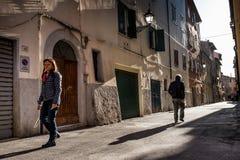 Piombino, Тоскана, Италия Стоковая Фотография