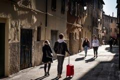 Piombino, Тоскана, Италия Стоковая Фотография RF