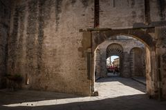 Piombino, Toskana, Italien stockbild