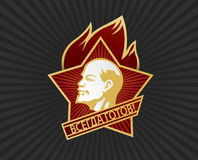 Pioneer badge Royalty Free Stock Images