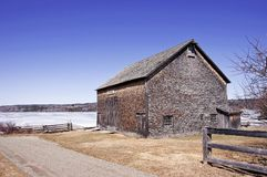 Pioneer Barn - New Brunswick, Canada Stock Image