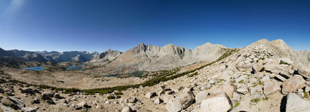 Pioneer Basin Panorama Stock Photography
