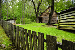 Pioneer Cabin Stock Photography