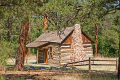 Pioneer Cabin Royalty Free Stock Image