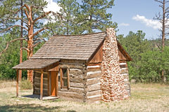 Pioneer Cabin Royalty Free Stock Photo