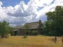 Pioneer Cabin Stock Image