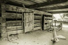 Pioneer Farm Royalty Free Stock Photography