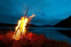 Pioneer fire Stock Image