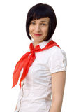 Pioneer girl Stock Photos
