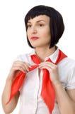 Pioneer girl Royalty Free Stock Image