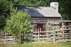 Pioneer home. Photo of old pioneer home in Utah stock photography
