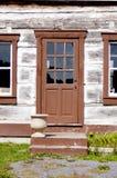 Pioneer house door Stock Photography