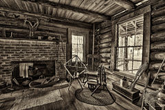 Pioneer House in the Pinellas County Heritage Village, Florida Stock Photo