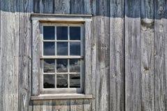 Pioneer House Window Stock Photos