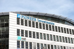 Pioneer Investments munich Stock Image