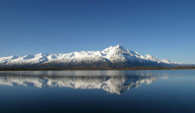Pioneer Peak Reflected Stock Photography