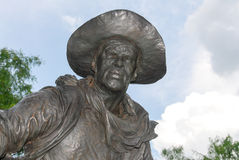 Pioneer Plaza - Dallas, Texas Royalty Free Stock Photos
