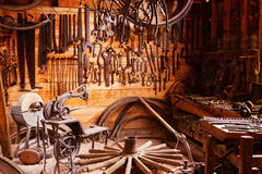 Pioneer tool shed Royalty Free Stock Images