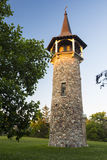 Pioneer Tower. Historical Pioneer Tower during sunset stock photography