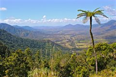 Pioneer Valley. The view down into the Pioneer Valley from Eungella Royalty Free Stock Photos