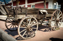 Pioneer wagon Royalty Free Stock Images